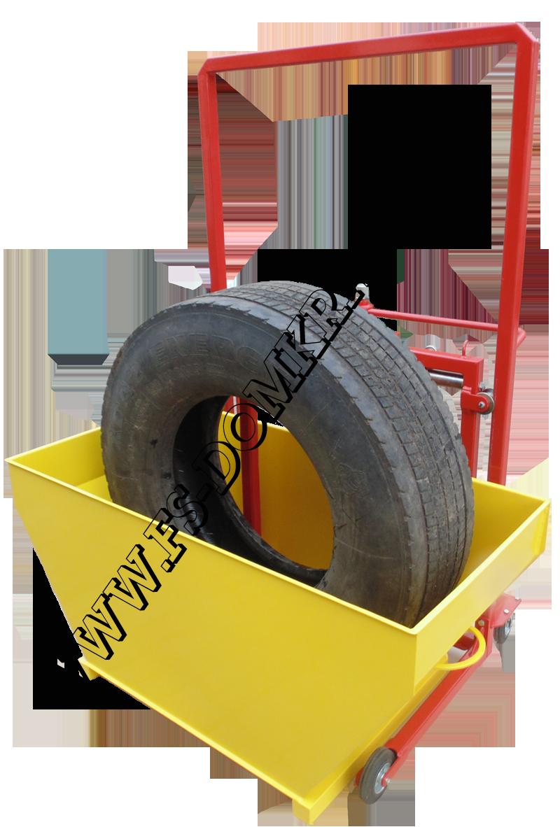 Ванна для проверки бескамерных шин на герметичность